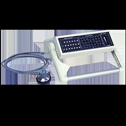 Sistema de auscultación con transmisión inalámbrica y captura con ECG